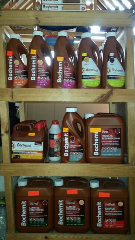 """Продуктите на """"Bochemit"""" предлагат цялостна защита на дървесина."""